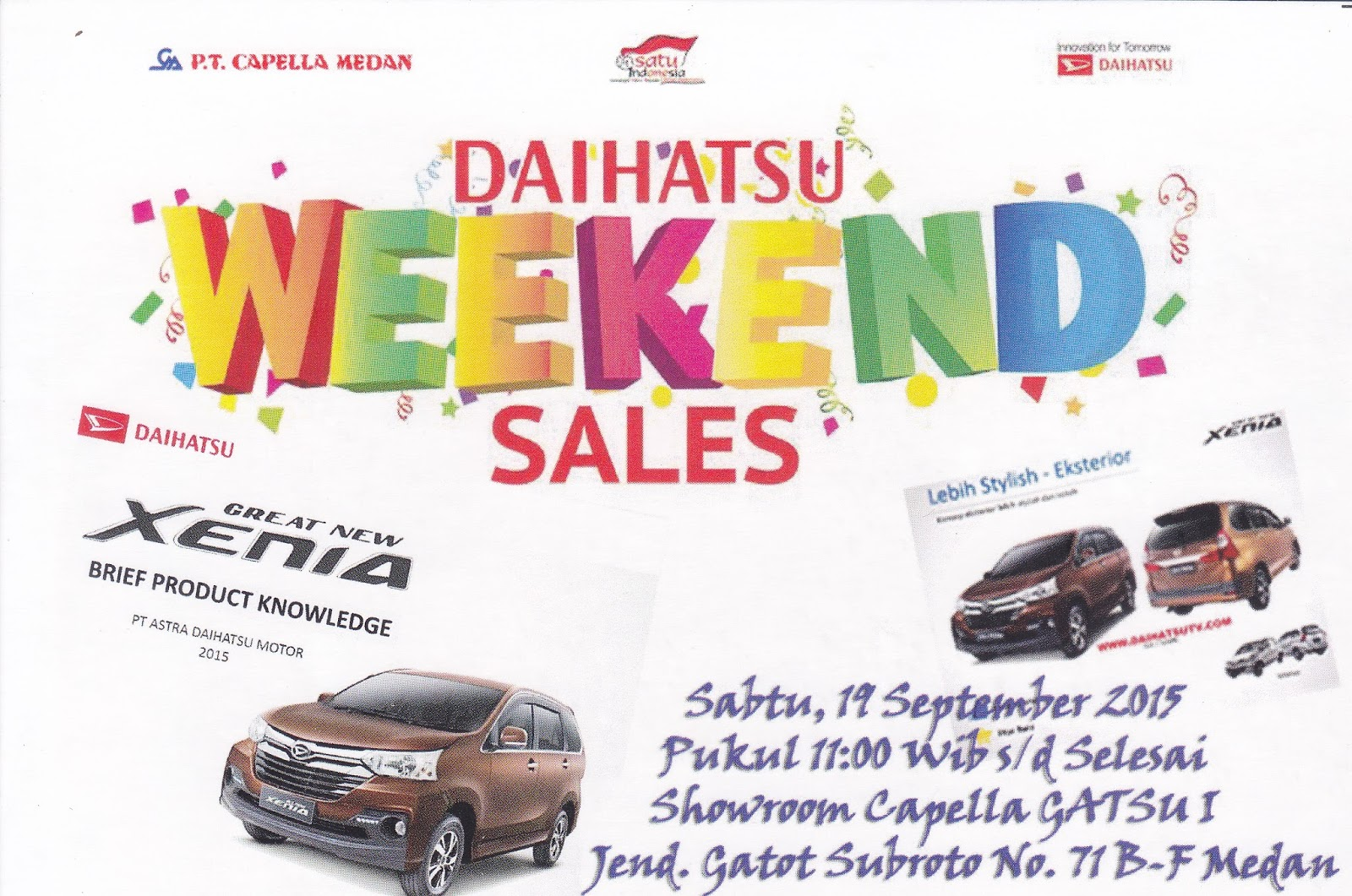 Daihatsu Weekend Sales Medan