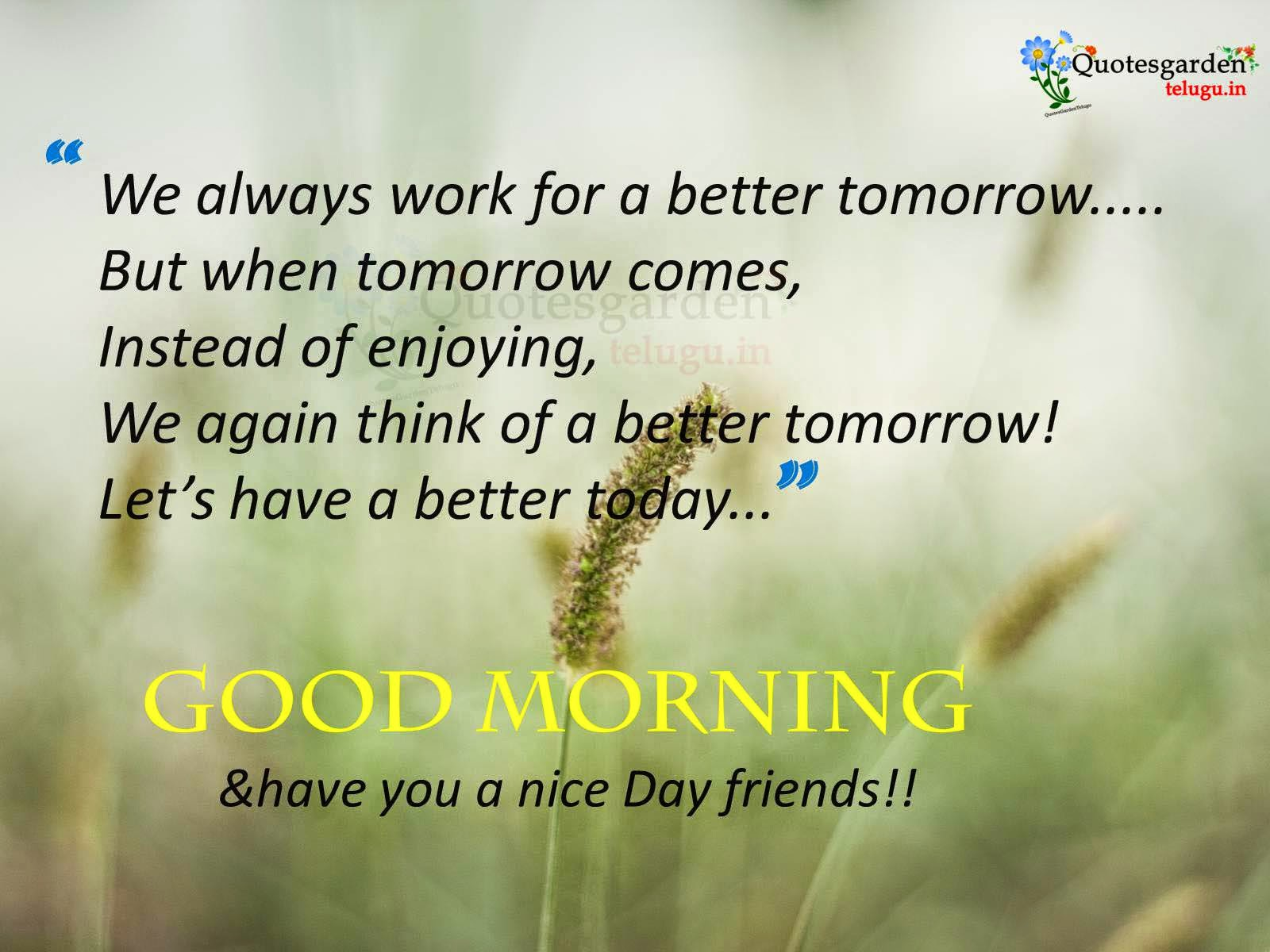 Best Good morning Quotes  Best English Quotes  Best
