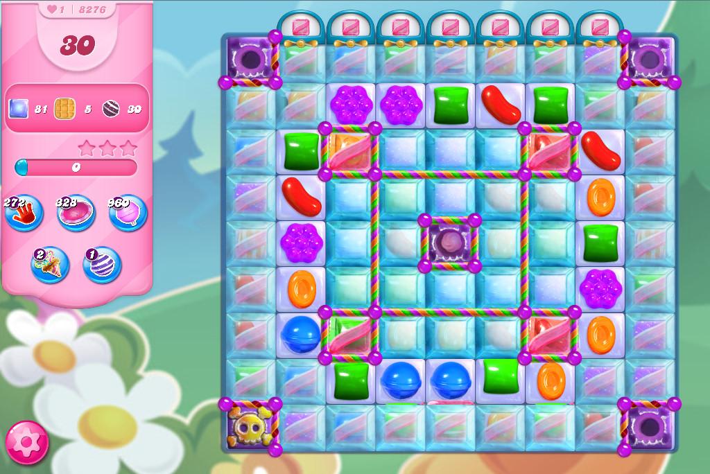 Candy Crush Saga level 8276