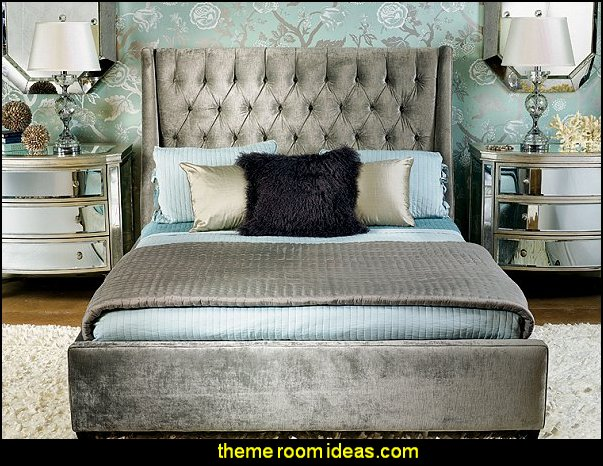 glam decor glam furniture hollywood glam old hollywood bedroom decorating vintage