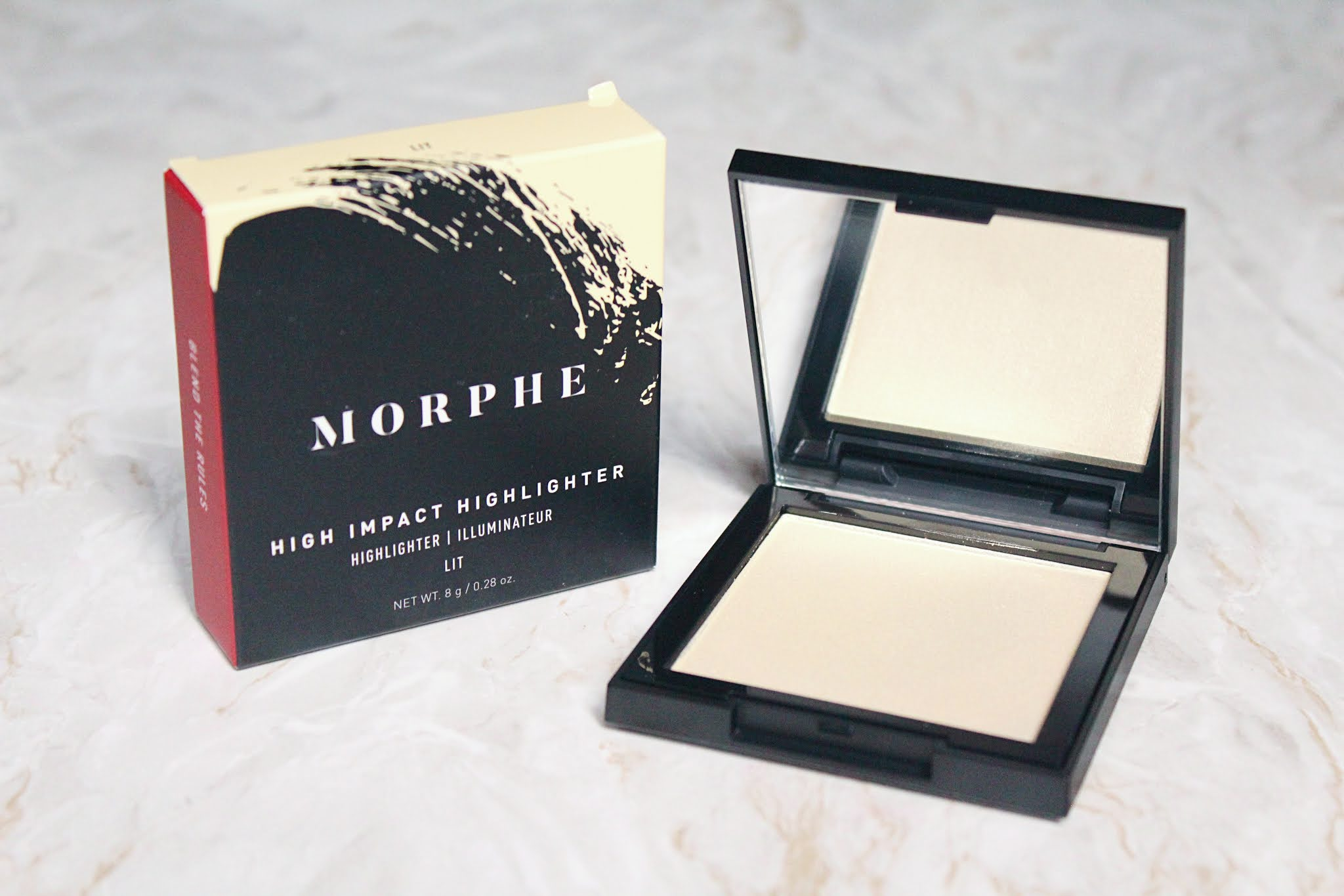 Morphe Lit Highlight Review & Swatch