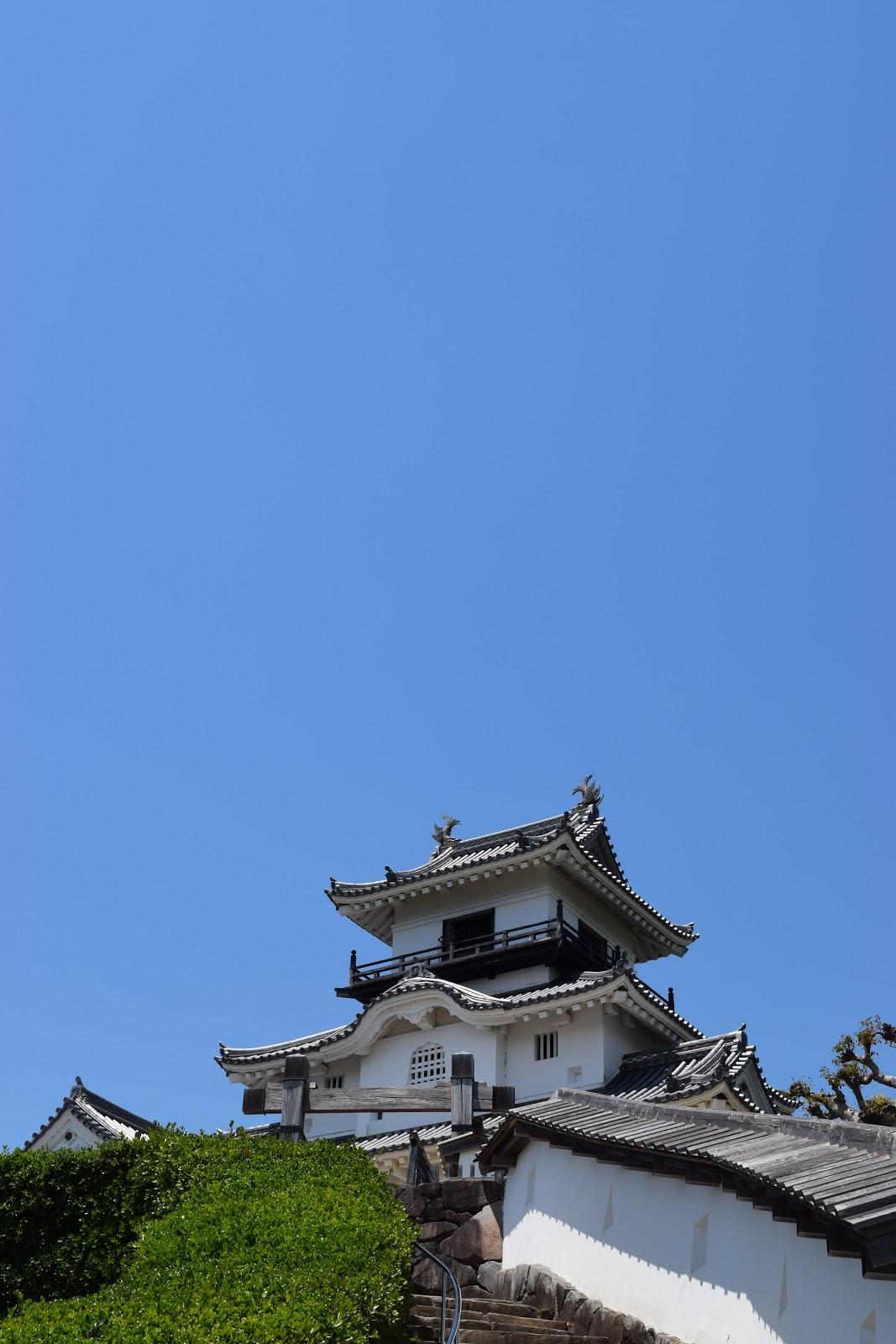 Kakegawa castle, Shizuoka prefecture