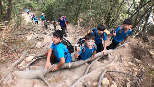 香田國小走向大自然教室 挑戰谷關七雄唐麻丹山步道