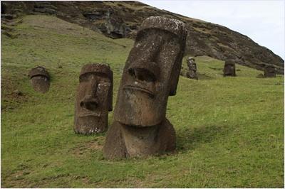 โมอาย - เกาะอีสเตอร์ (Moai)