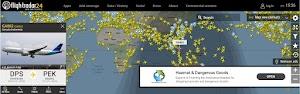 Memantau Status Penerbangan Dengan Aplikasi FlightRadar24