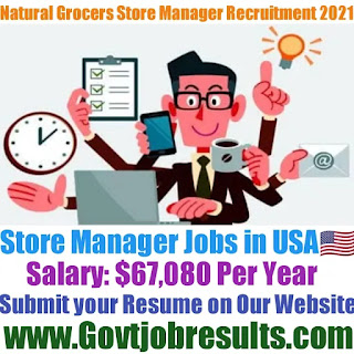 Natural Grocers Store Manager Recruitment 2021-22