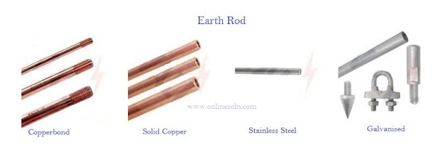 Type of Earth Rod,  Features and Benefits