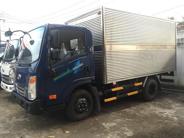 Xe tải Teraco 250 Daehan 2,5 tấn thùng kín