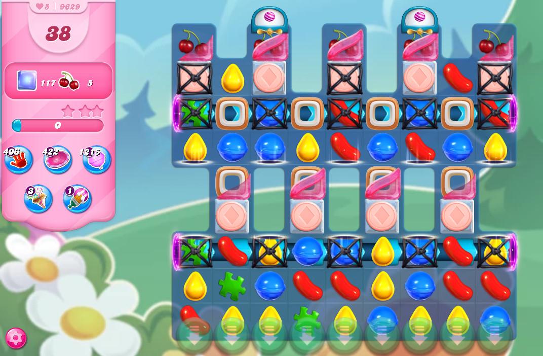 Candy Crush Saga level 9629