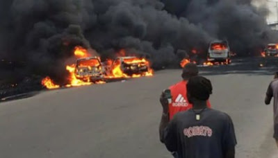 Diesel Tanker Explodes Along Ilesa-Akure Highway, Many 'Burn To Death'