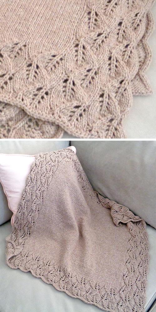 Elora Baby Blanket - Knitting Pattern