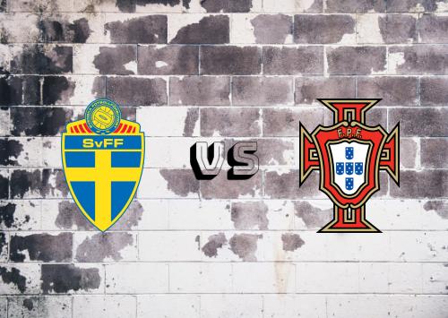 Suecia vs Portugal  Resumen y Partido Completo
