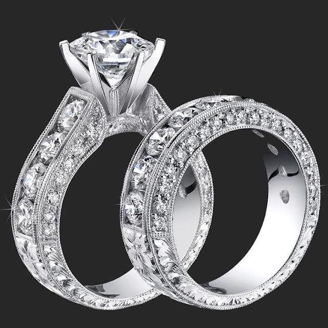 Cheap Diamond Wedding Ring Sets