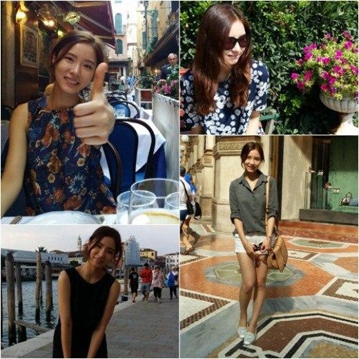 """""""Foto-foto Shin Se Kyung Liburan di Italia"""""""