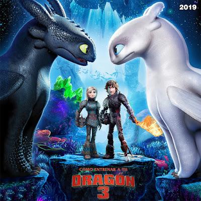 Como entrenar a tu dragón 3 - [2019]
