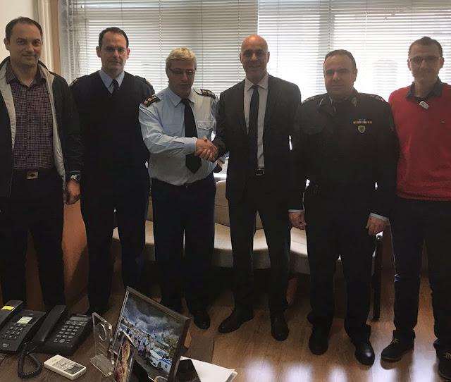 Γιάννενα: Ένωση Αξιωματικών Αστυνομίας Ηπείρου - Συνάντηση Με Τον Βουλευτή Ν.Δ Γ. ΑΜΥΡΑ