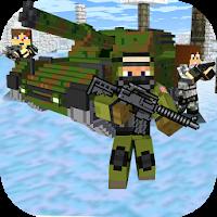 Cube Wars Battle Survival v1.52 Apk Mod [God Mod]