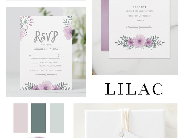 Designer Spotlight : Array for Weddings - Lilac Bouquet Wedding Collection