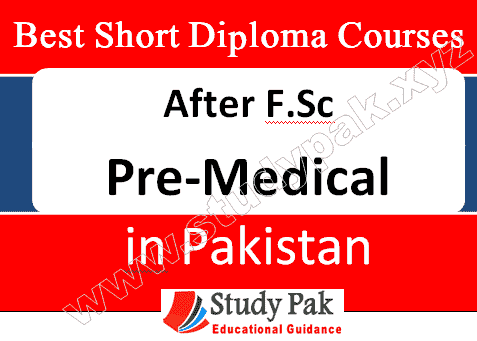 short medical diploma courses after fsc pre medical in pakistan