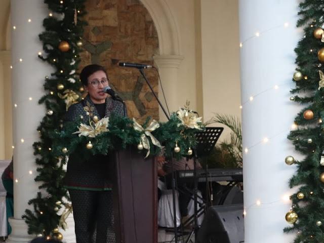 TP PKK dan Dharma Wanita Kota Ambon Rayakan Natal Bersama