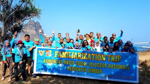 Familirization Trip Blogger Nasional Ke Destinasi Wisata Kabupaten Jember