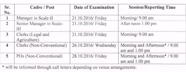 BOM Admit Card, Clerk & PO Exam Call letter, Bank of Maharashtra Exam
