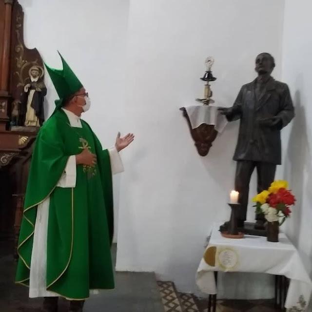 APURE: Obispo Alfredo Torres pidió salud en la primera Minerva del Santuario Beato José Gregorio Hernández.