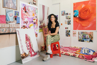 Farah Al Qasim (EAU,1991) - Foto Gabriela Herman - New York Times