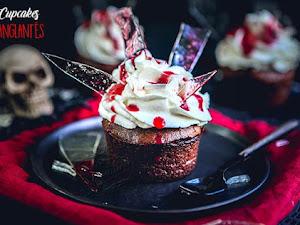 Cupcakes ensanglantés d'Halloween