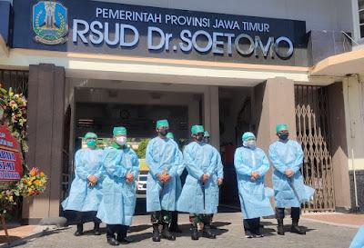 Forkopimda Jatim cek langsung penambahan 200 Bed Ruang ICU dan HCU RSUD Dr Soetomo