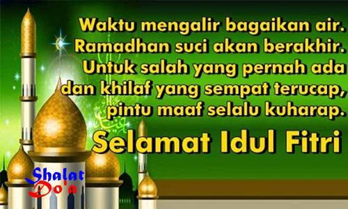 Contoh Gambar Kata2 Ucapan Selamat Hari Raya Idul Fitri ...