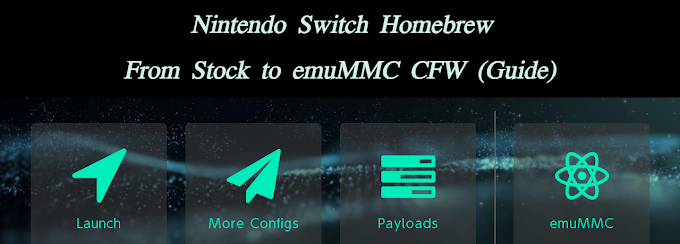 [GUIDE] Nintendo Switch Homebrew - From Stock to emuMMC CFW
