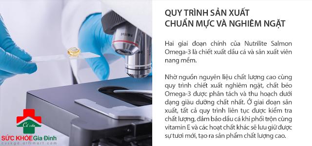 TP BVSK Nutrilite Salmon Omega-3