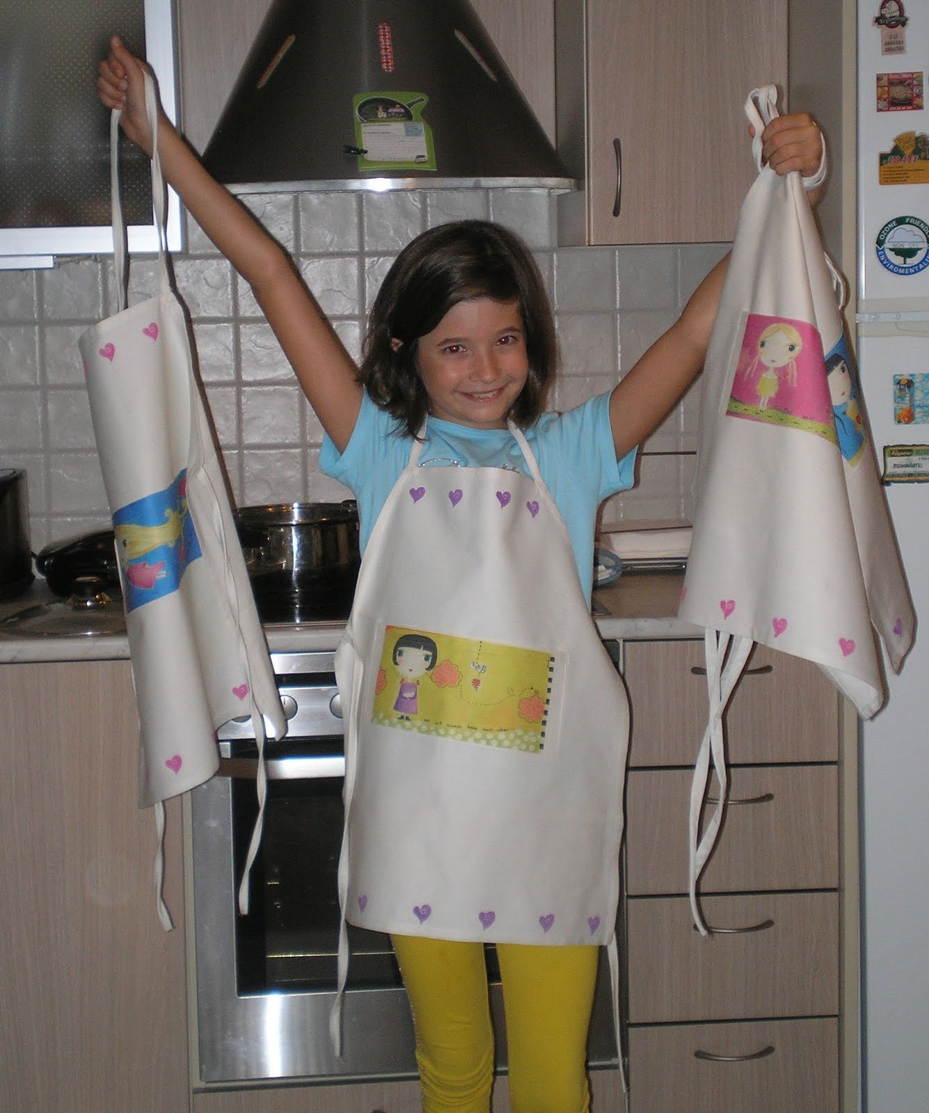 BIRD ON HER HEAD: Fairy Aprons :
