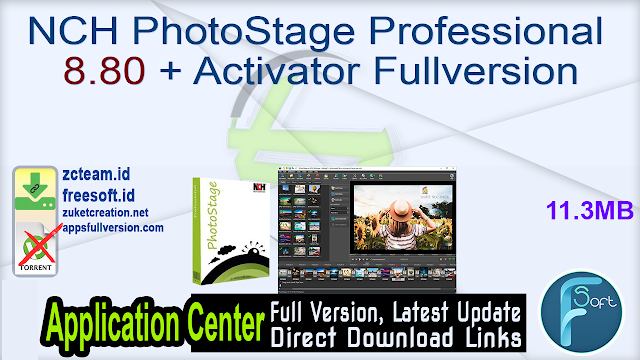 NCH PhotoStage Professional 8.80 + Activator Fullversion