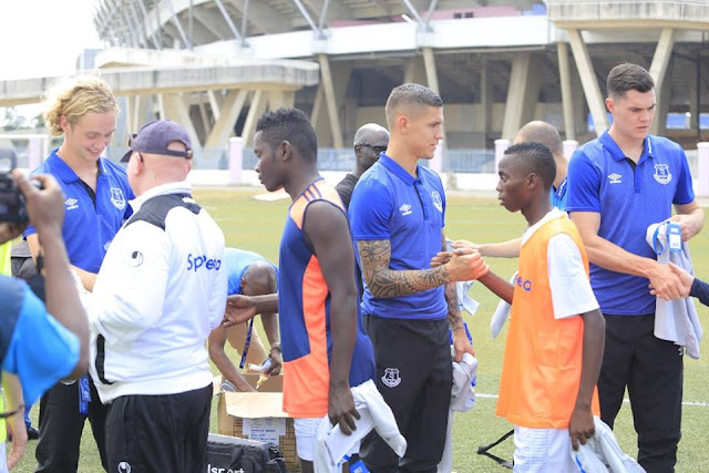 English Premier League side Everton is already in the East African country of Tanzania