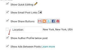 how to Add Author Profile below Posts Blogger In Hindi, blog me author box enable kaise kare
