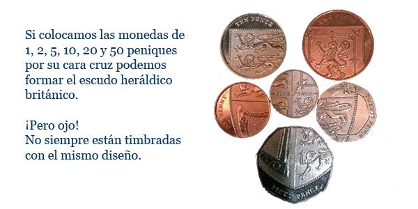 escudo monedas libra