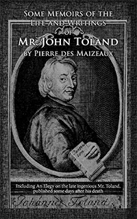 Front cover of Some Memoirs of the Life and Writings of Mr. John Toland by Pierre des Maizeaux