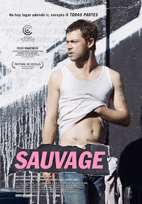 SAUVAGE, la película de Camille Vidal-Naquet  - Poster España