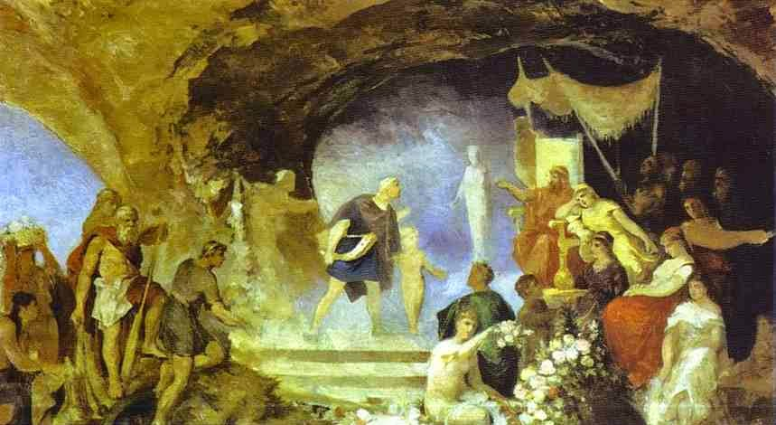 Orfeu no Submundo - Henryk Siemiradzki e suas pinturas ~ Polonês