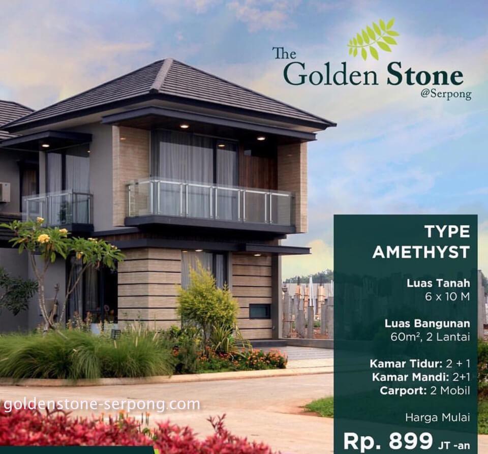 Rumah Contoh Golden Stone Serpong