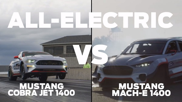 Ford Mustang Cobra Jet 1400 vs Ford Mustang Mach-E 1400