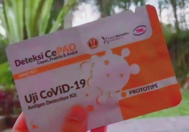 Kang Emil Pamer Rapid Test Kit Karya UNPAD, Akurat dan Murah