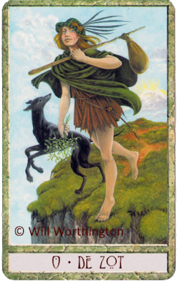 The druidcraft tarot The Fool