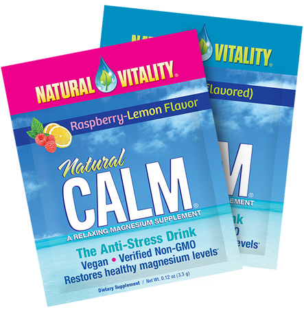 FREE Sample of Natural Vitality CALM Packet