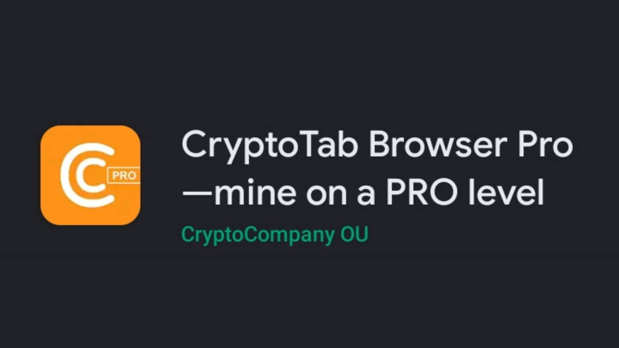 Download gratuito per CryptoTab Pro Mod APK per Android
