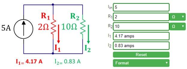 Current Divider Calculator - Current Divider