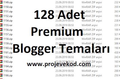 Premium Blogger Temaları Ücretsiz Arşiv 128 Adet