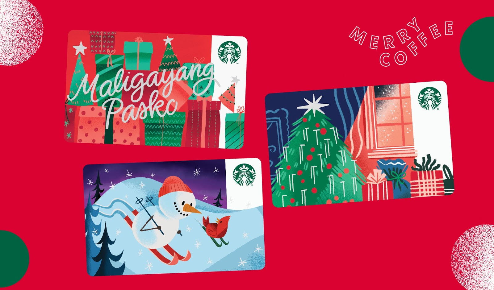 Christmas Starbucks Cards - Jexx Hinggo